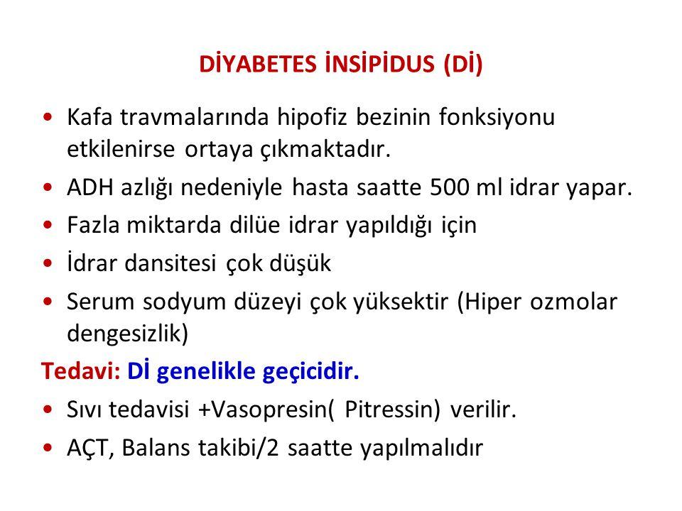 DİYABETES İNSİPİDUS (Dİ)