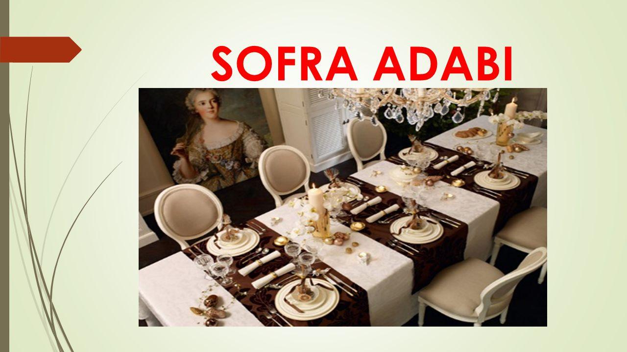 SOFRA ADABI
