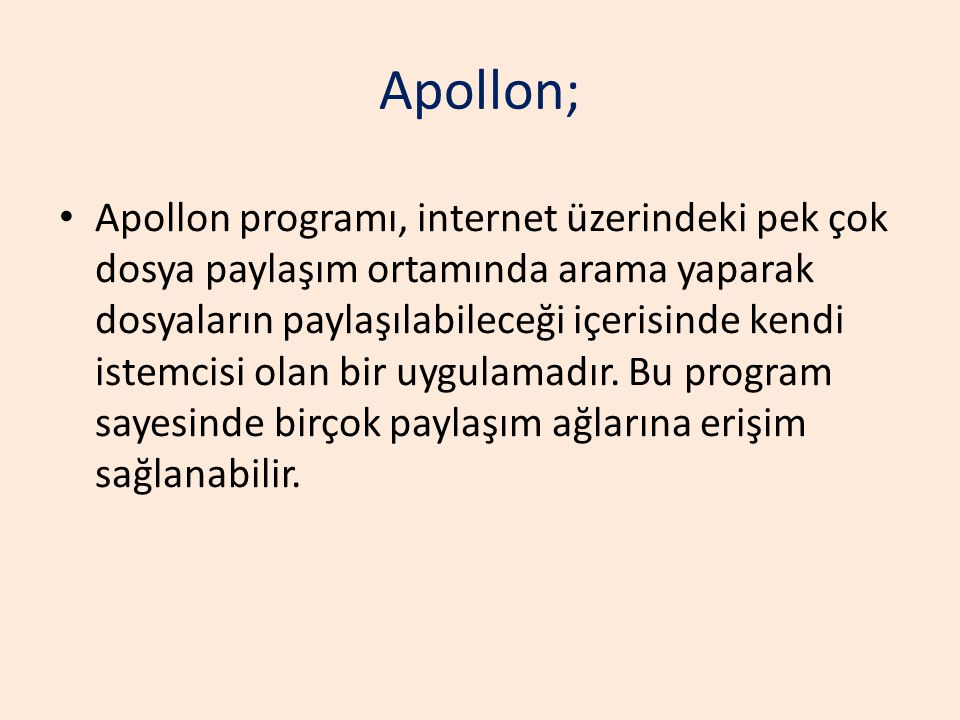 Apollon;