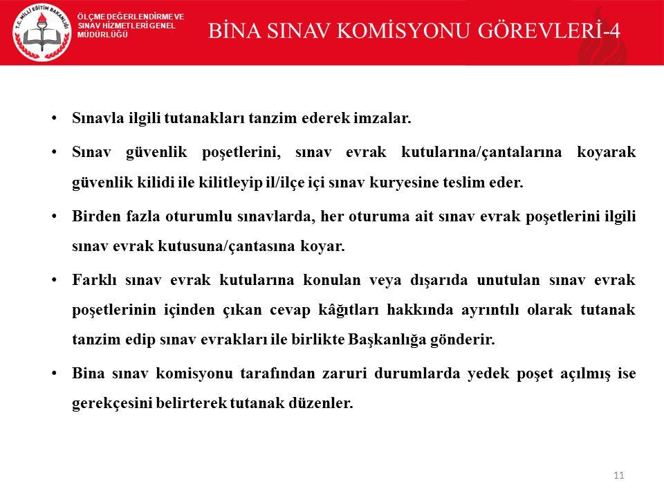 BİNA SINAV KOMİSYONU GÖREVLERİ-4