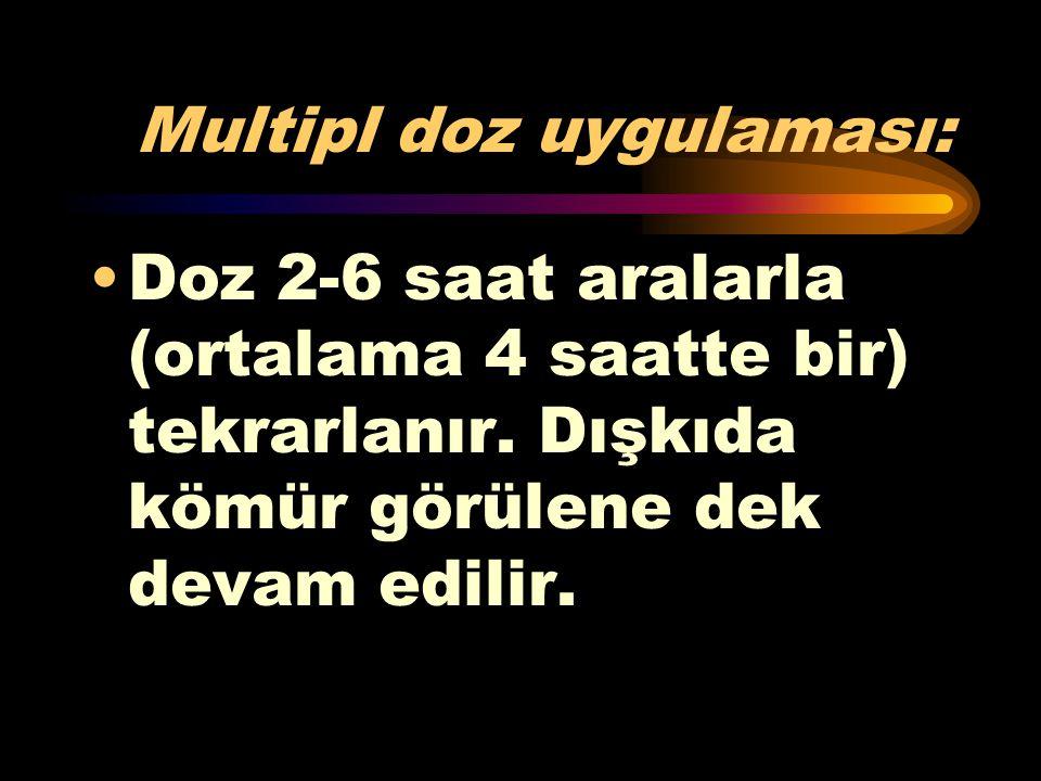 Multipl doz uygulaması: