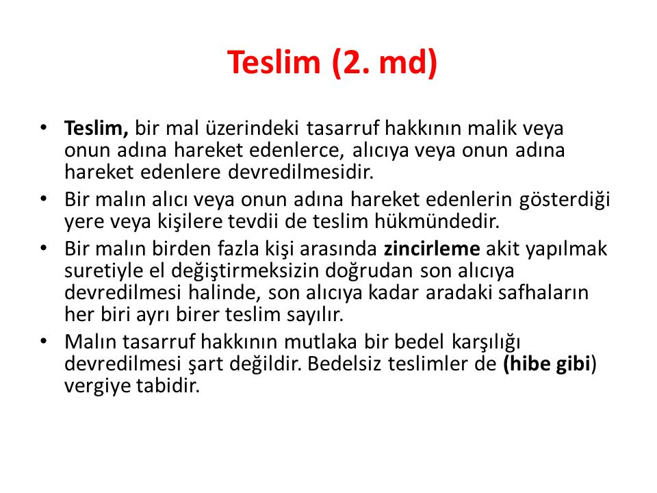 Teslim (2. md)