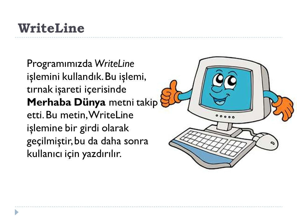 WriteLine
