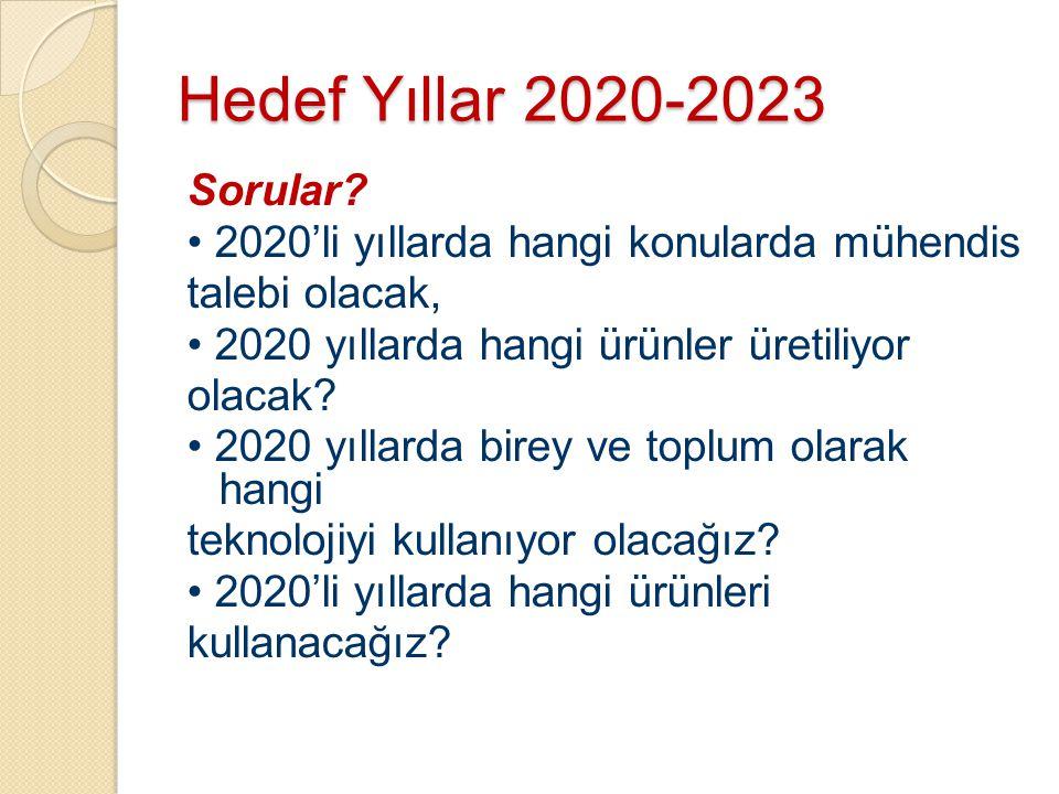 Hedef Yıllar 2020-2023