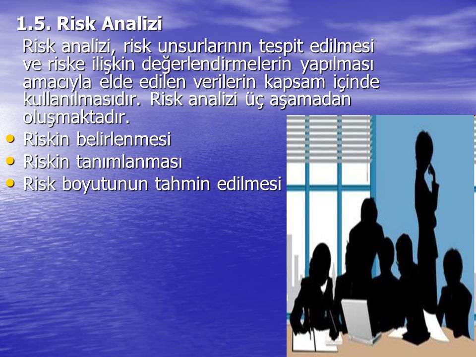 1.5. Risk Analizi