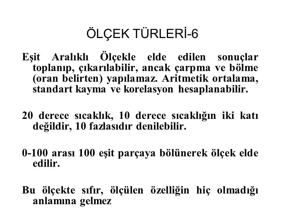 ÖLÇEK TÜRLERİ-6