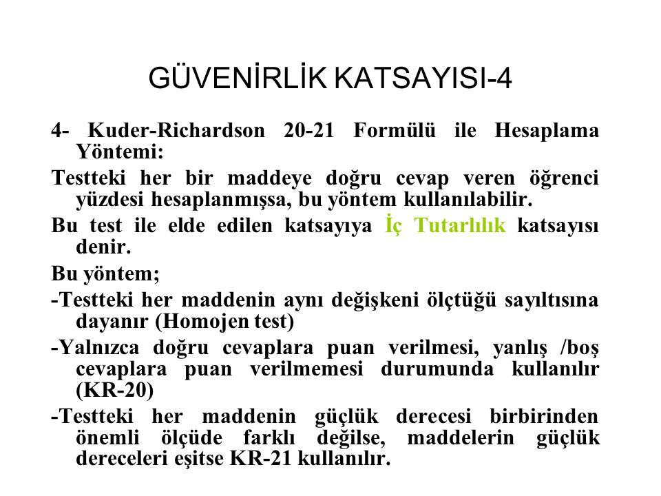 GÜVENİRLİK KATSAYISI-4
