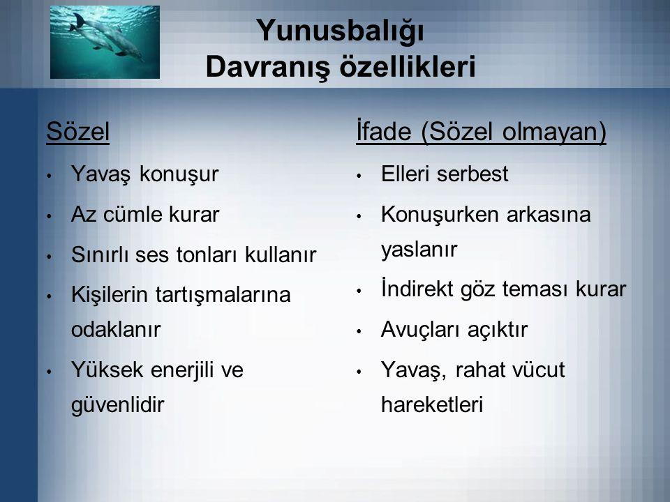 Yunusbalığı Davranış özellikleri