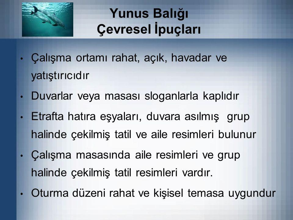 Yunus Balığı Çevresel İpuçları