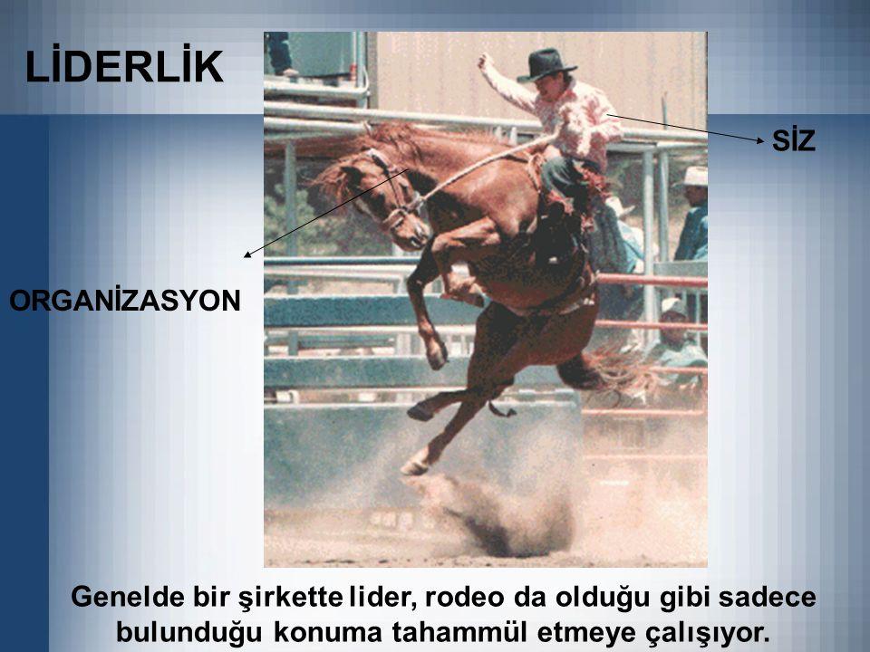 LİDERLİK SİZ ORGANİZASYON
