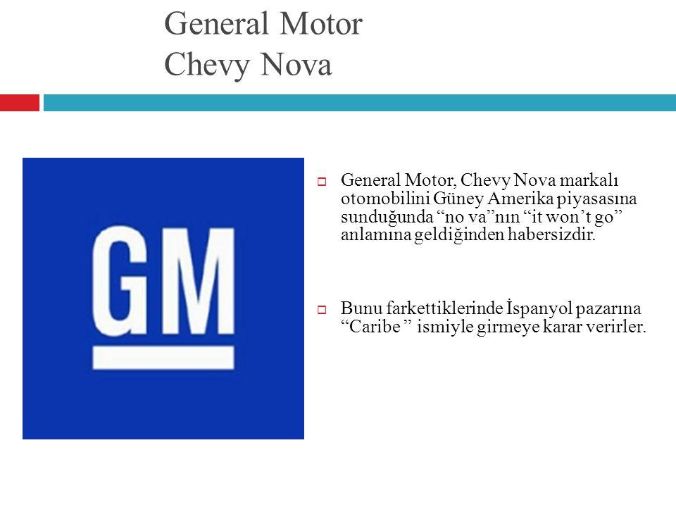 General Motor Chevy Nova