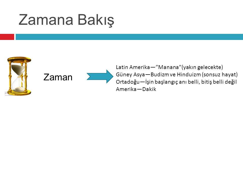 Zamana Bakış Zaman Latin Amerika— Manana (yakın gelecekte)