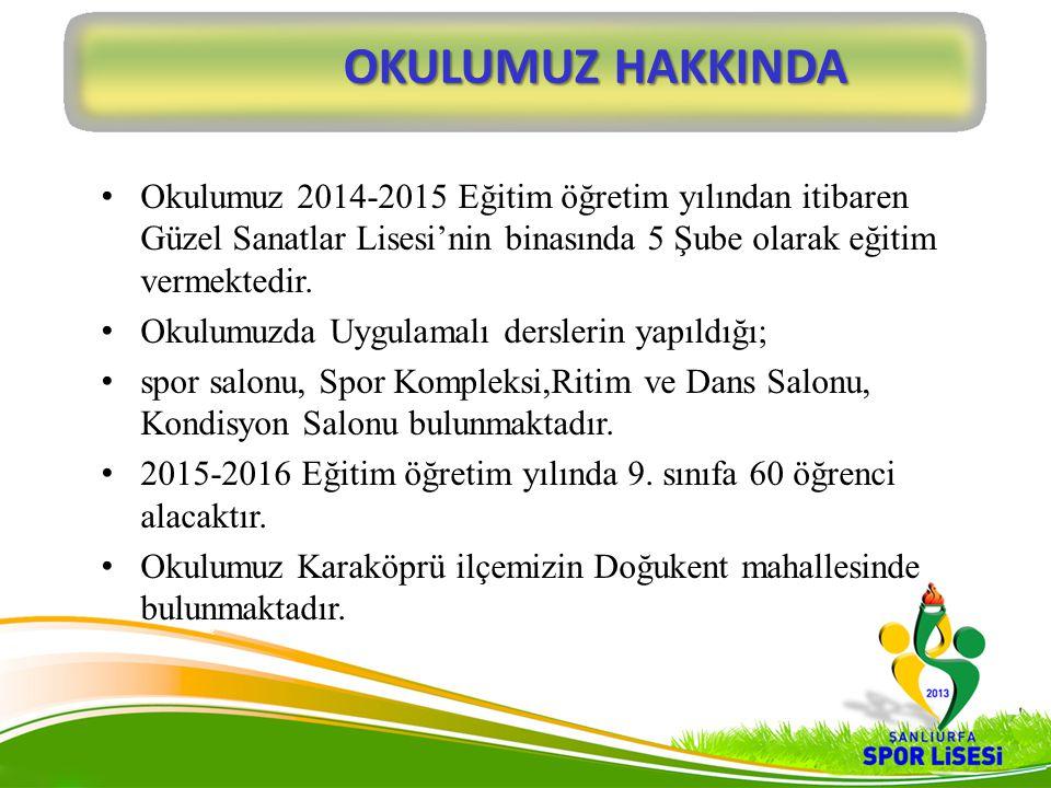 2013-2014 EĞİTİM ÖĞRETİM YILI BAŞARILARI