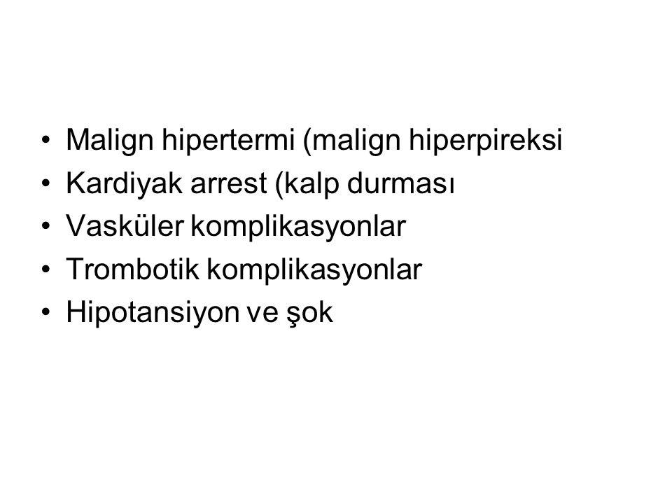 Malign hipertermi (malign hiperpireksi
