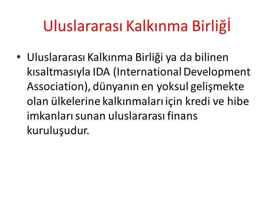 Uluslararası Kalkınma Birliğİ