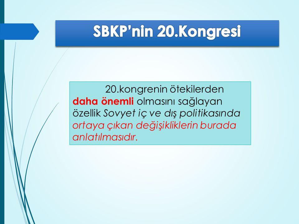 SBKP'nin 20.Kongresi