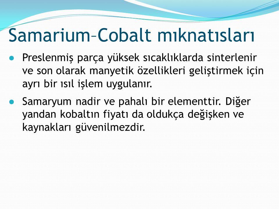 Samarium–Cobalt mıknatısları