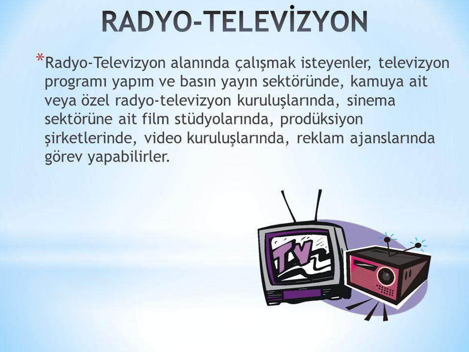 RADYO-TELEVİZYON