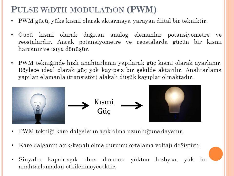 Pulse wıdth modulatıon (PWM)