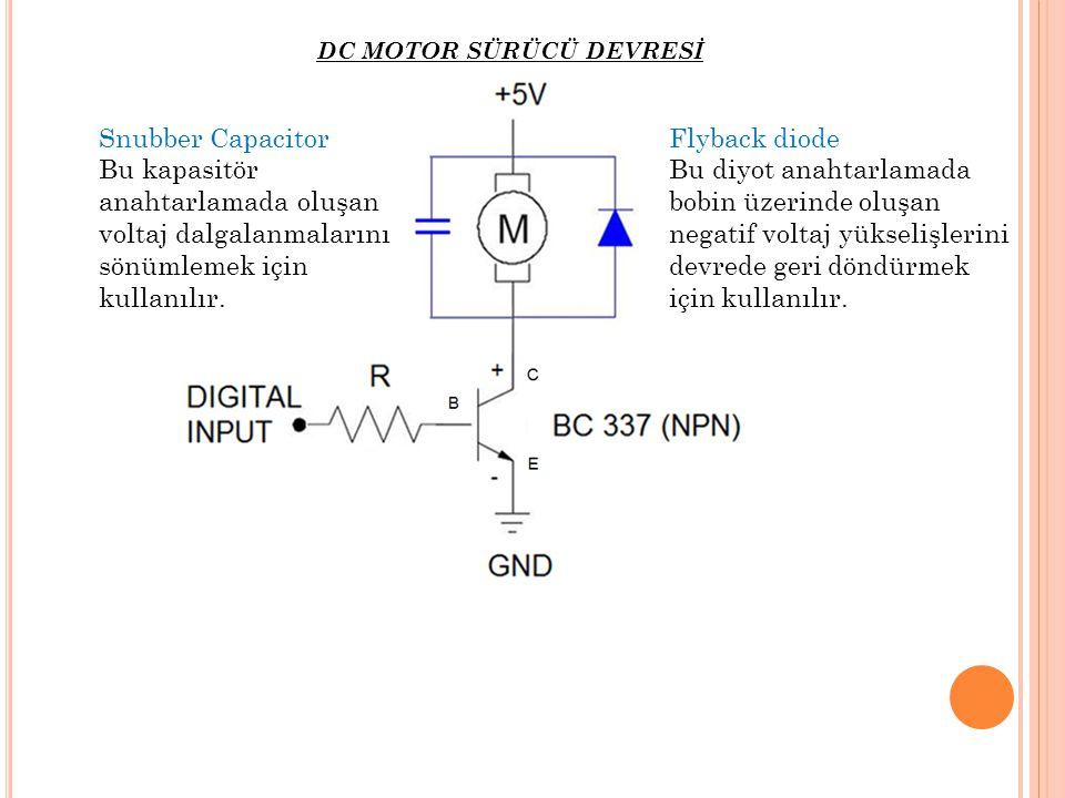 Bu kapasitör anahtarlamada oluşan voltaj dalgalanmalarını
