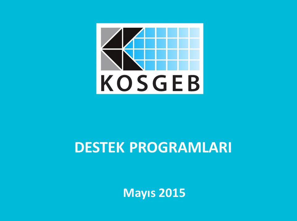 DESTEK PROGRAMLARI Mayıs 2015