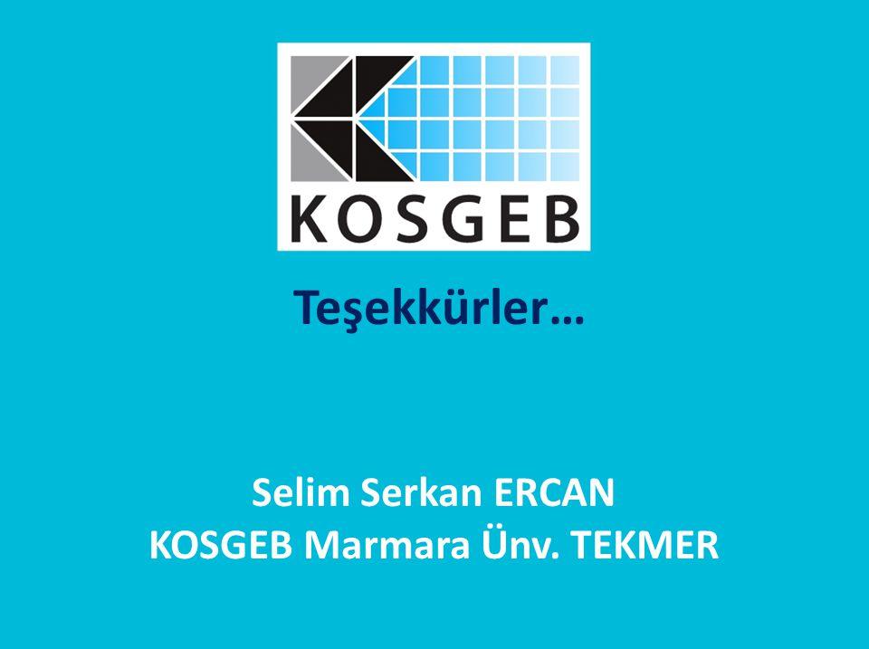 KOSGEB Marmara Ünv. TEKMER