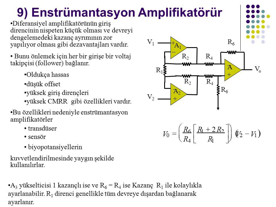 9) Enstrümantasyon Amplifikatörür