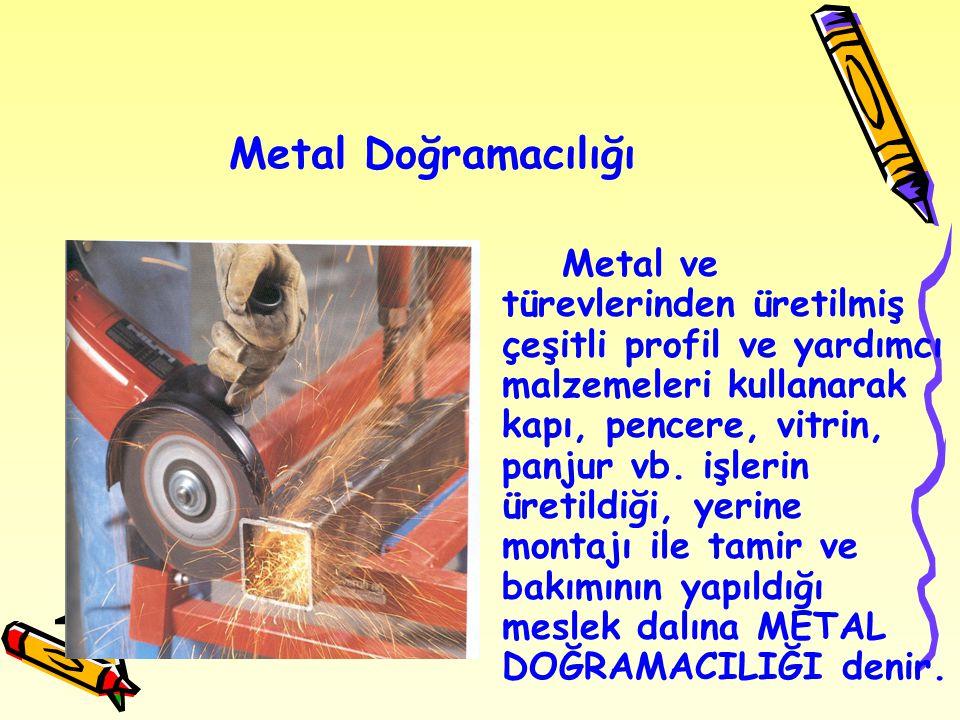 Metal Doğramacılığı