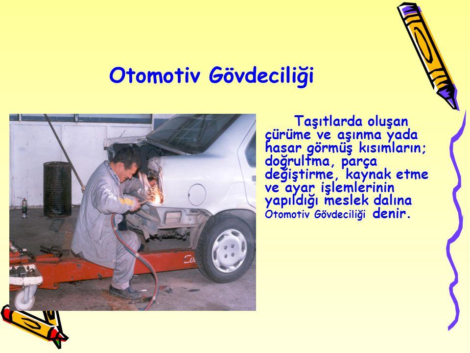 Otomotiv Gövdeciliği