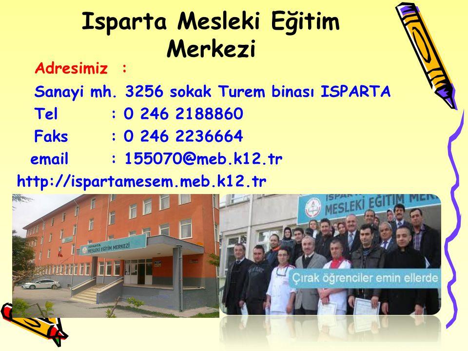 Isparta Mesleki Eğitim Merkezi