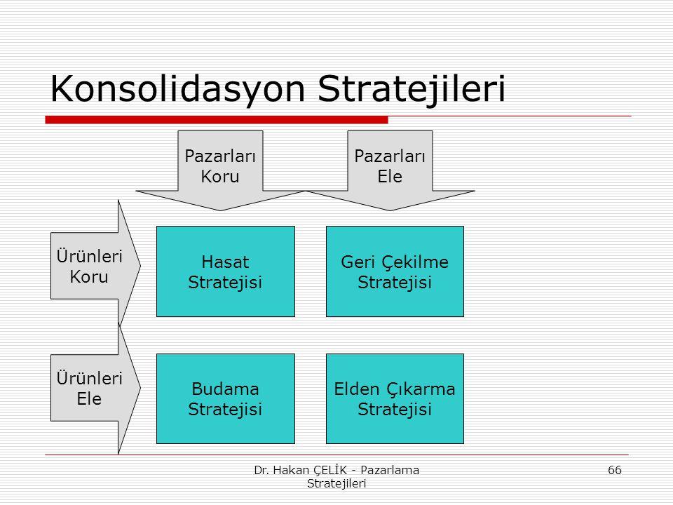 Konsolidasyon Stratejileri