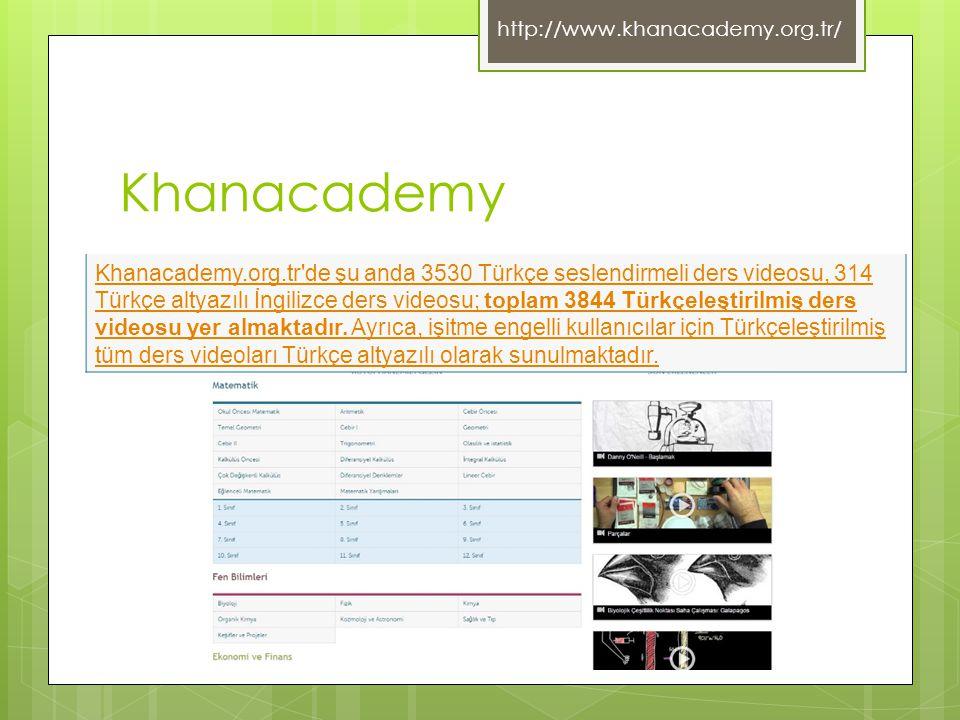 http://www.khanacademy.org.tr/ Khanacademy.