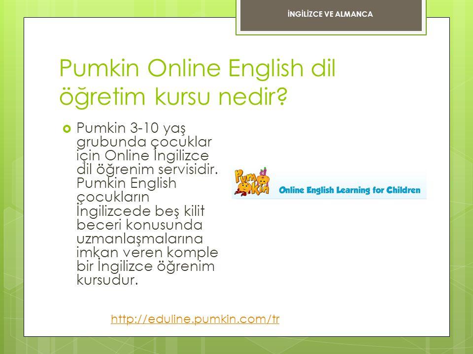 Pumkin Online English dil öğretim kursu nedir