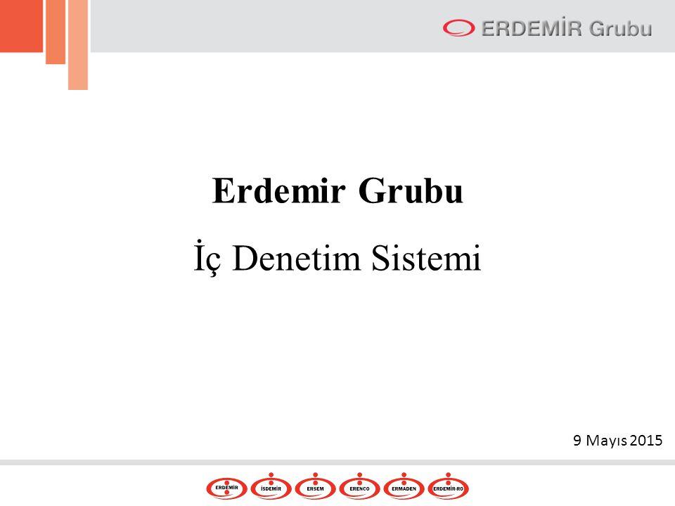 Erdemir Grubu İç Denetim Sistemi 9 Mayıs 2015