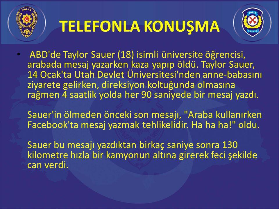 TELEFONLA KONUŞMA