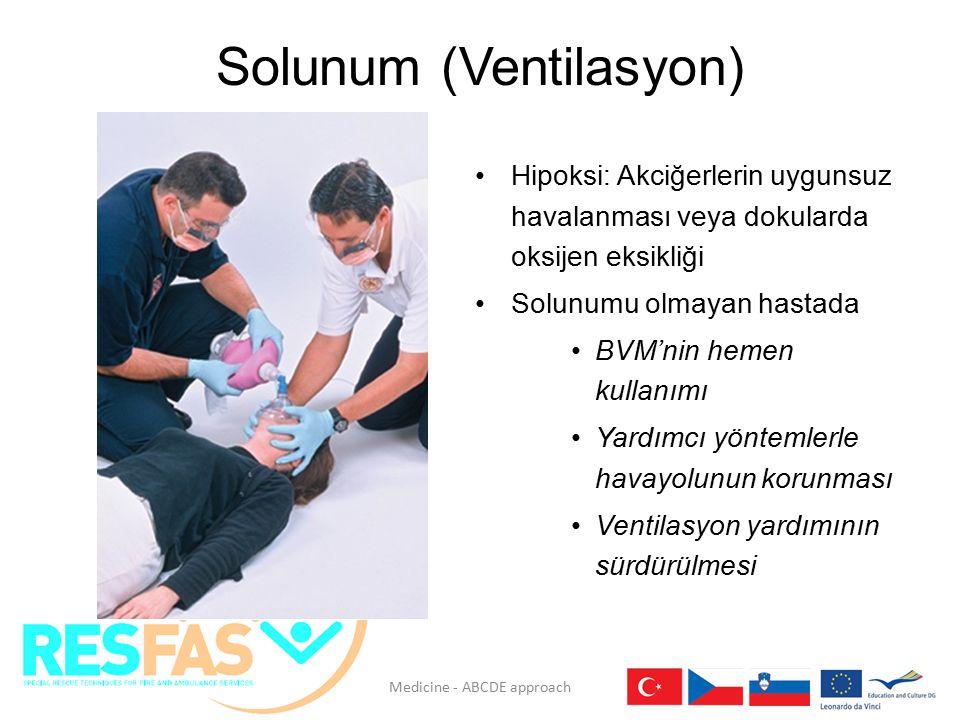 Solunum (Ventilasyon)