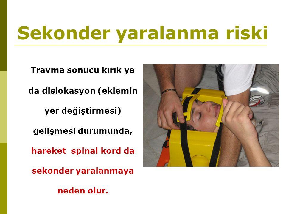 Sekonder yaralanma riski