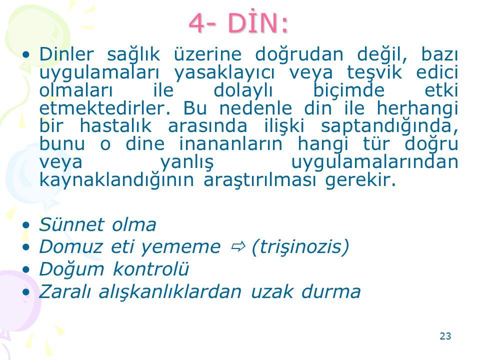 4- DİN: