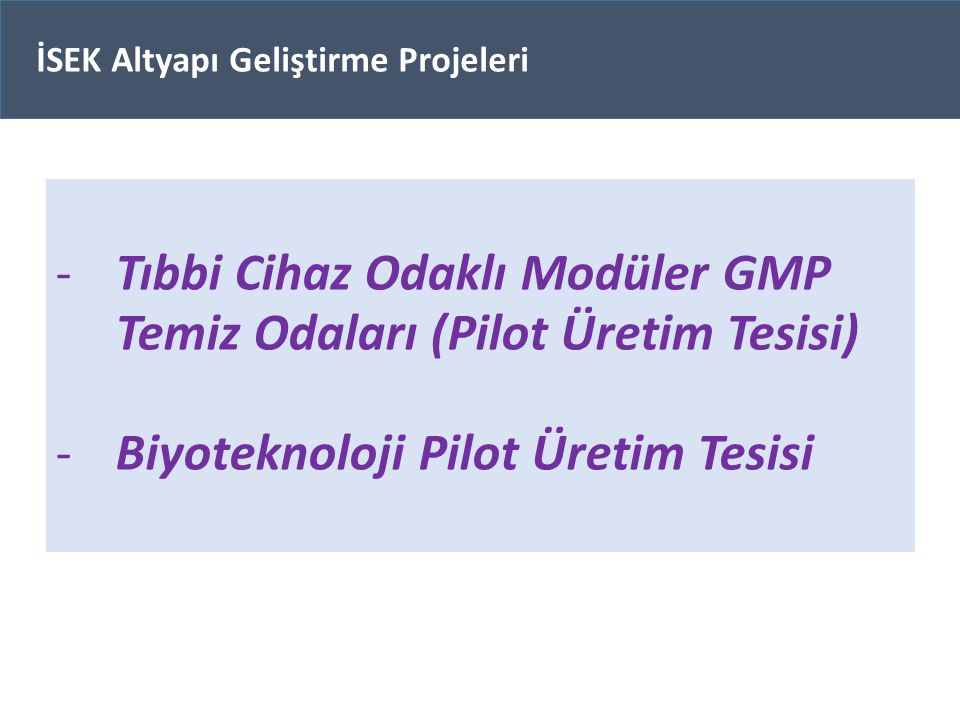 Tıbbi Cihaz Odaklı Modüler GMP Temiz Odaları (Pilot Üretim Tesisi)