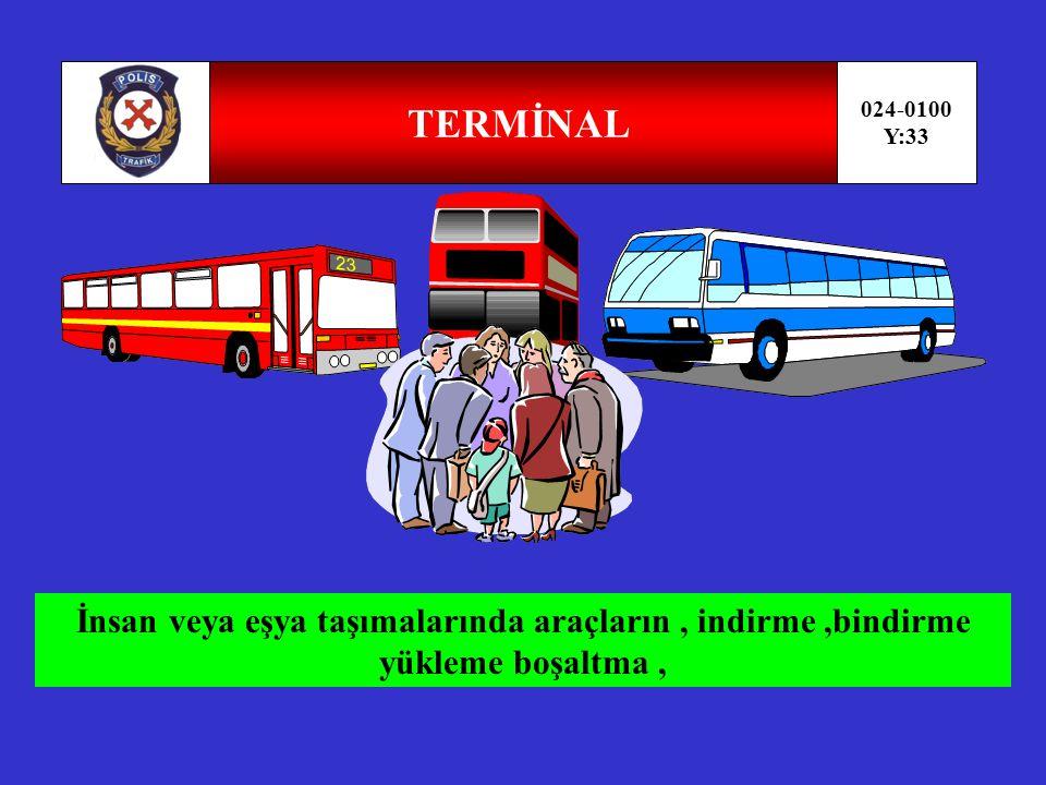 TERMİNAL 024-0100. Y:33.