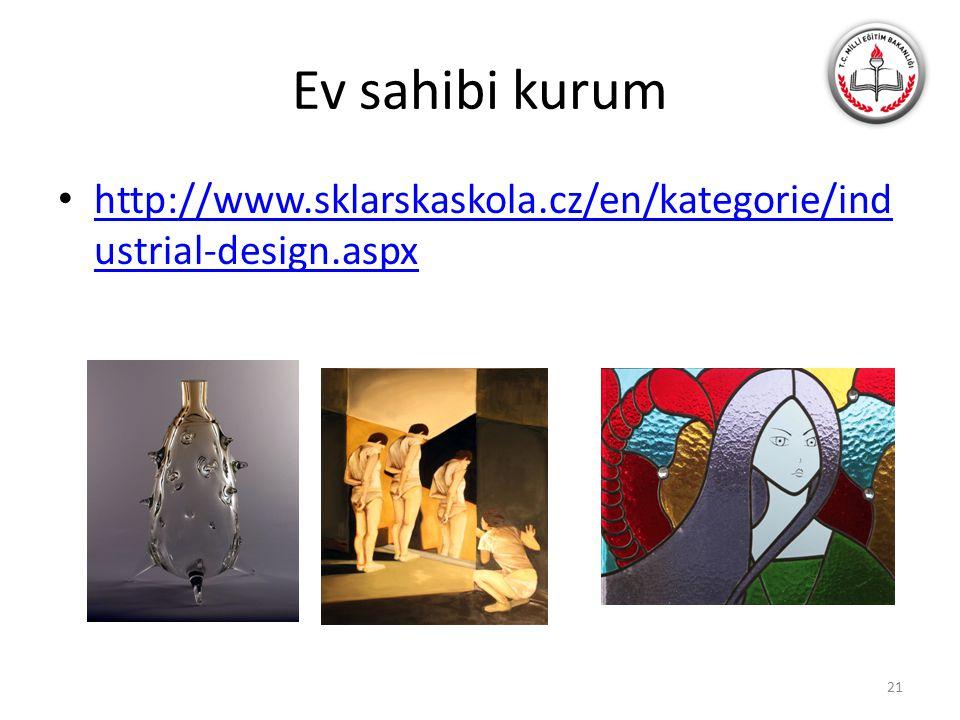 Ev sahibi kurum http://www.sklarskaskola.cz/en/kategorie/industrial-design.aspx