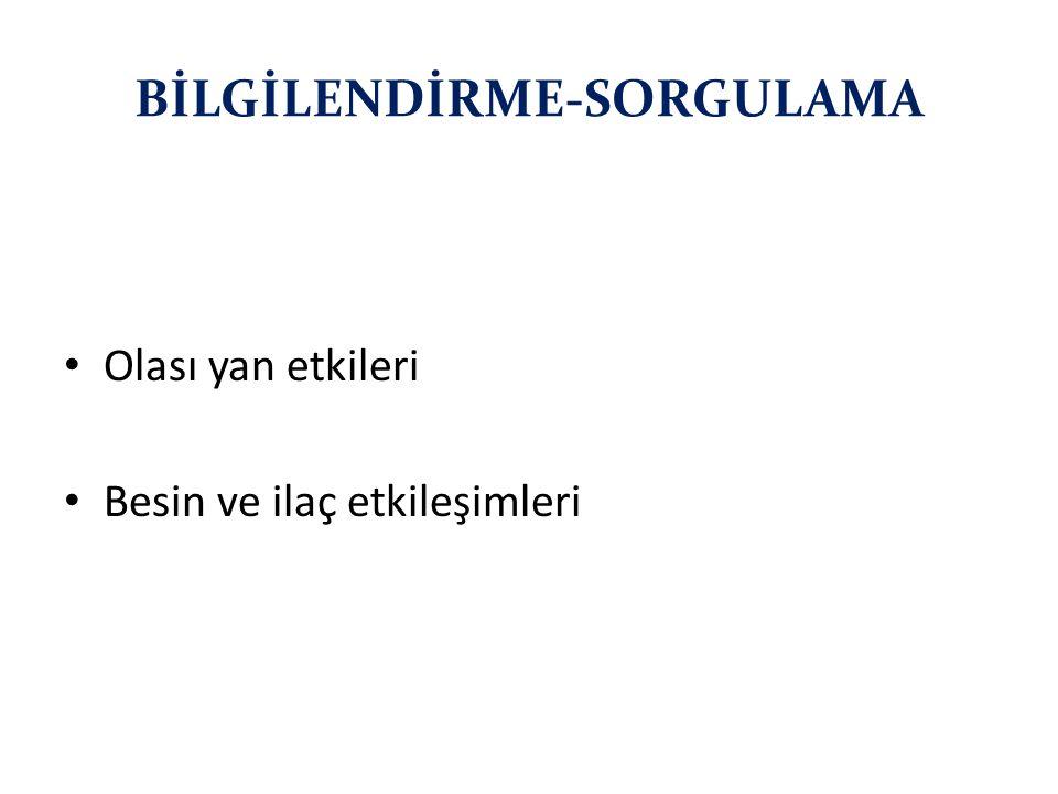 BİLGİLENDİRME-SORGULAMA