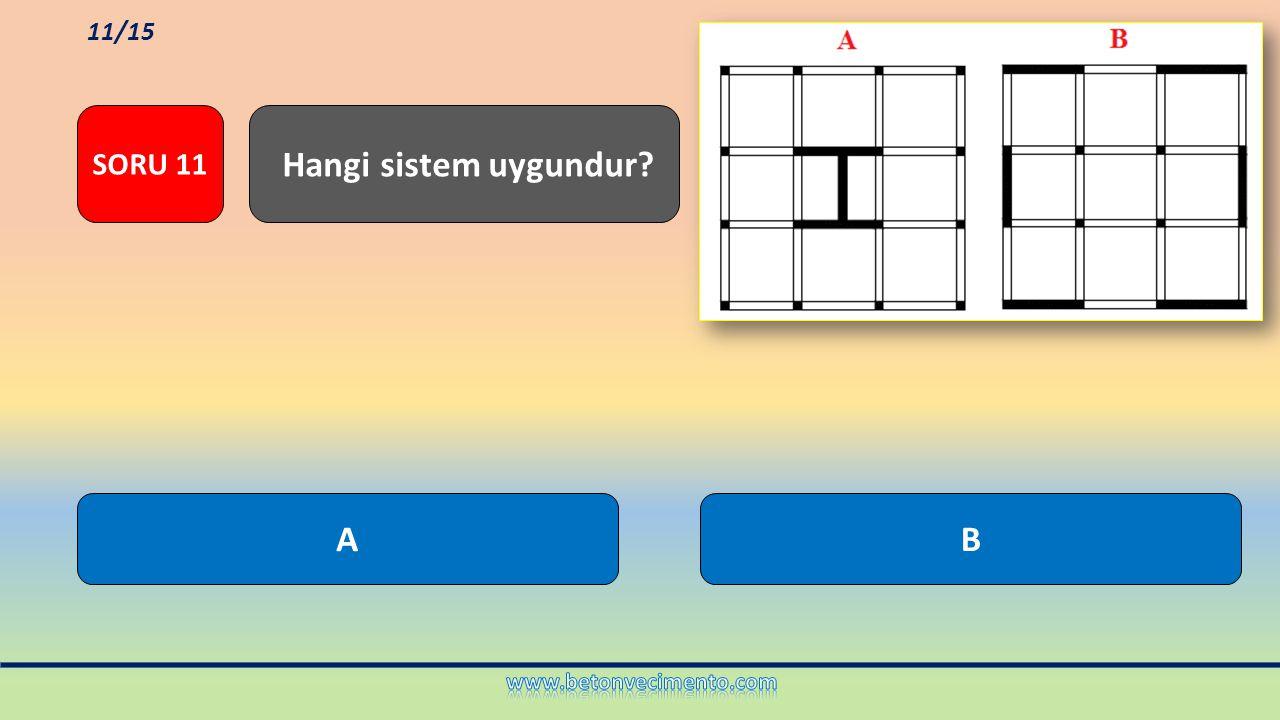 Hangi sistem uygundur A B