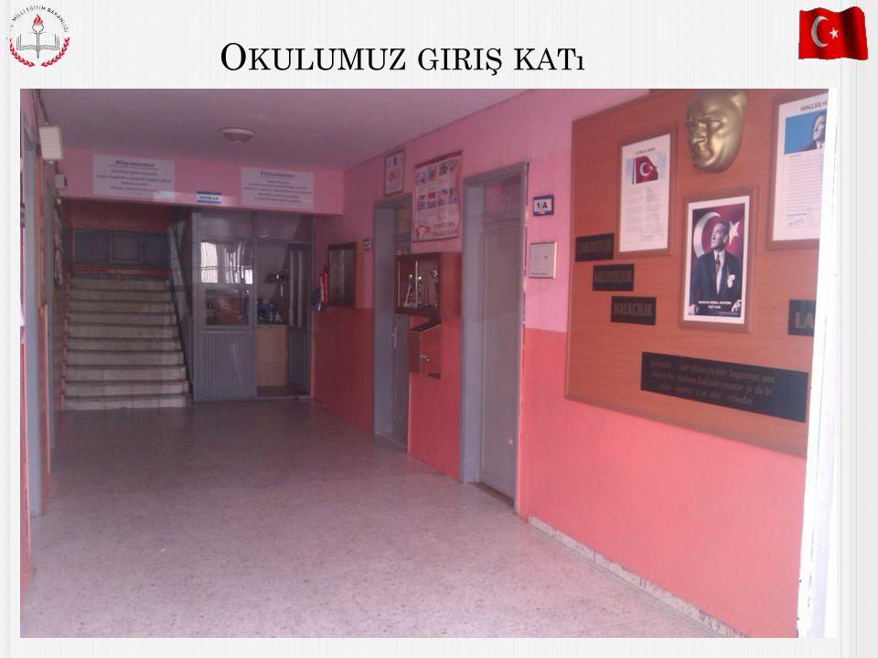Okulumuz giriş katı