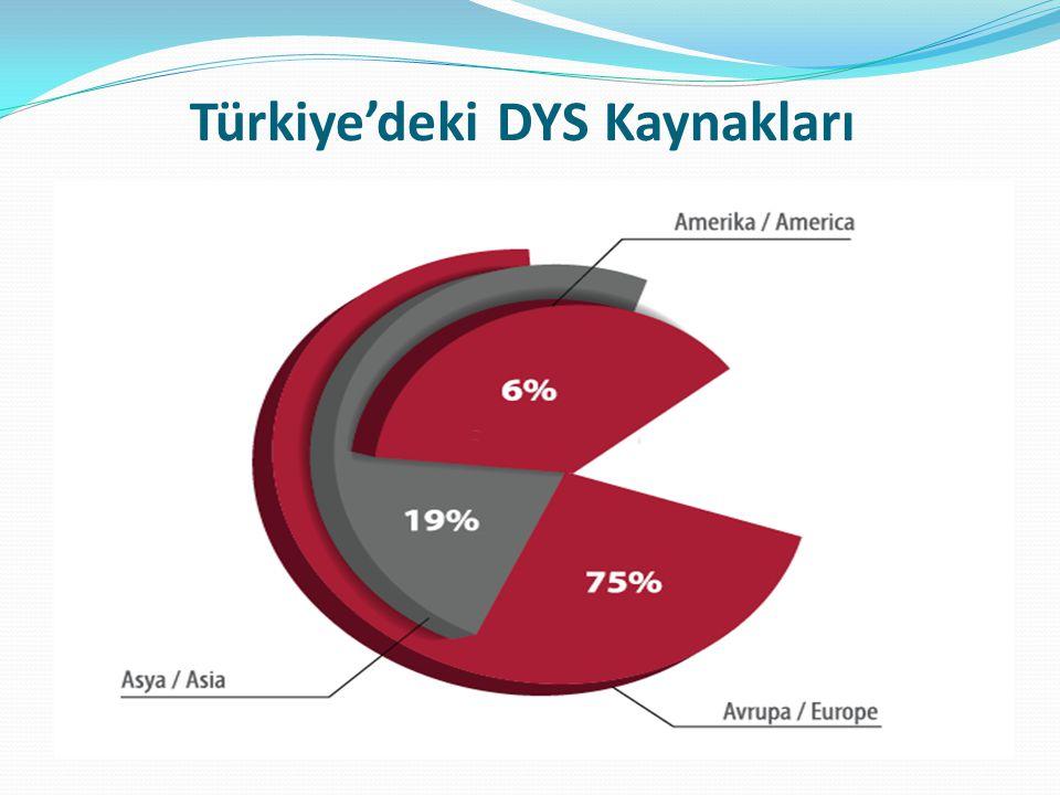 Türkiye'deki DYS Kaynakları
