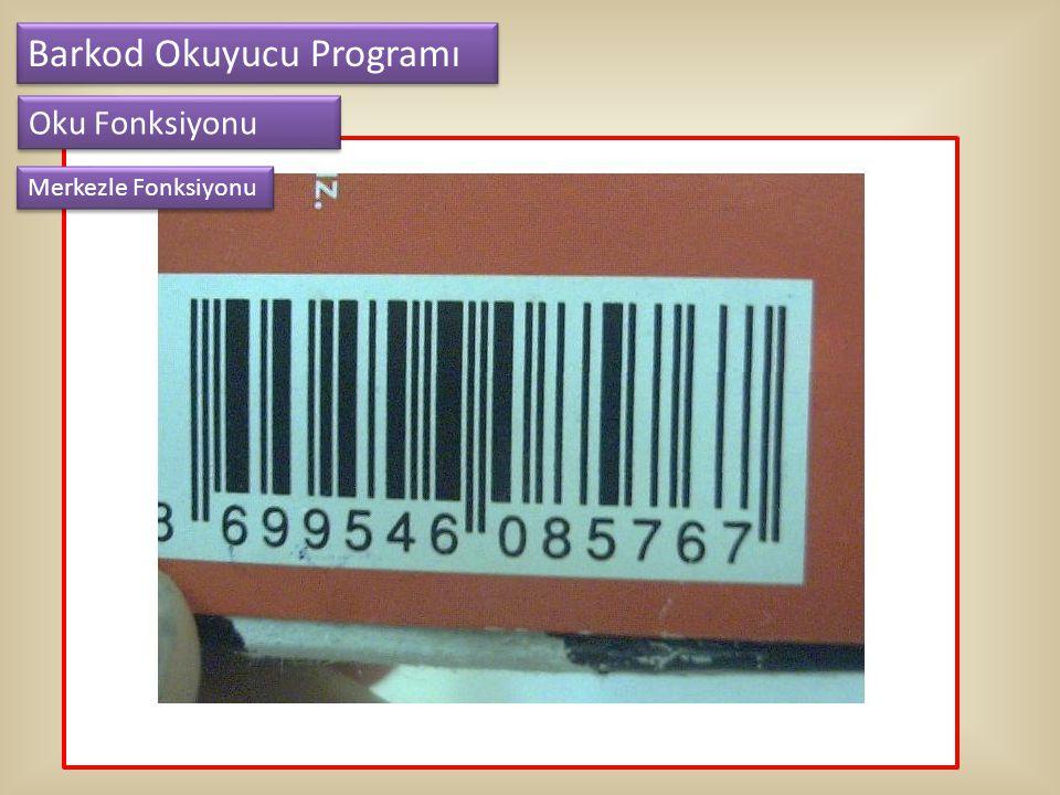Barkod Okuyucu Programı