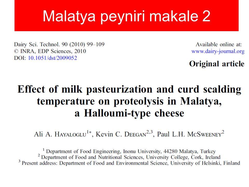 Malatya peyniri makale 2