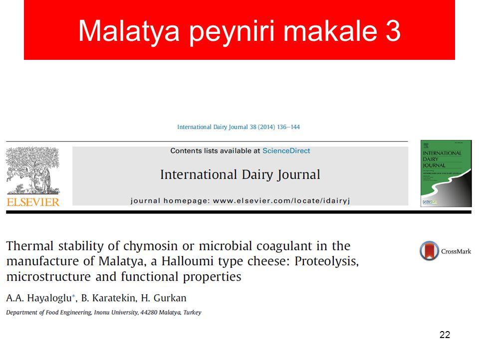 Malatya peyniri makale 3
