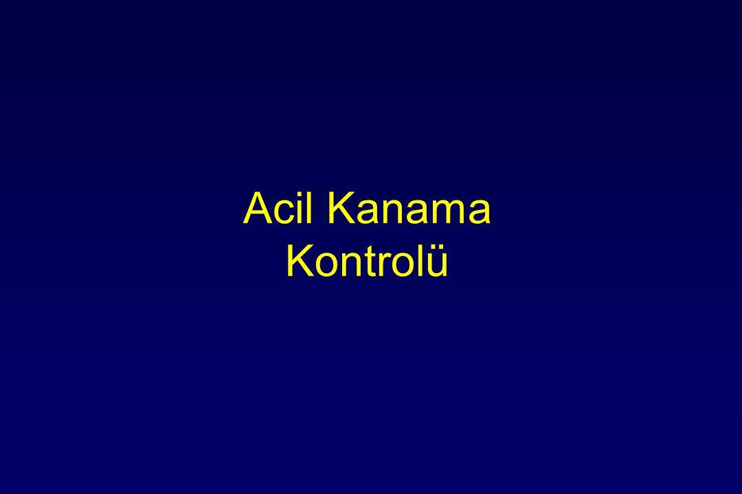 Acil Kanama Kontrolü