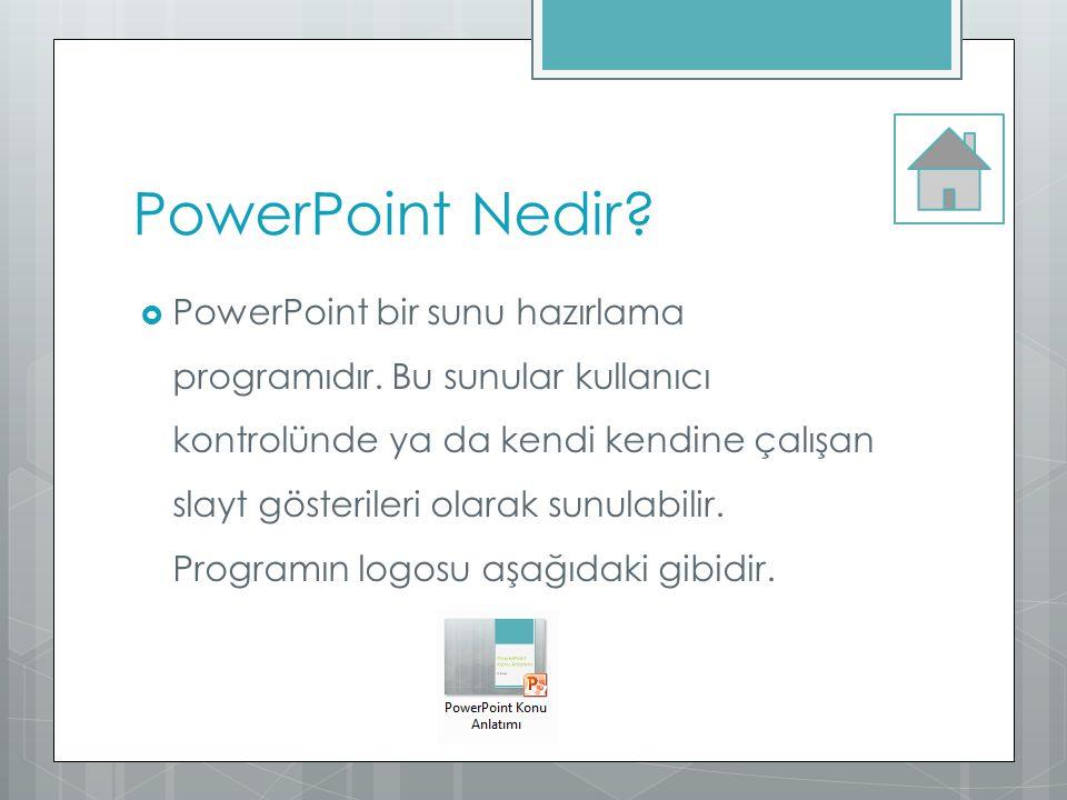 PowerPoint Nedir